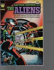Captain Johner and the Aliens #2 (Whitman, 1982) VF