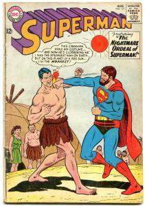 SUPERMAN #171 comic book 1964-DC COMICS-CAVE MAN COVER BOXING vg
