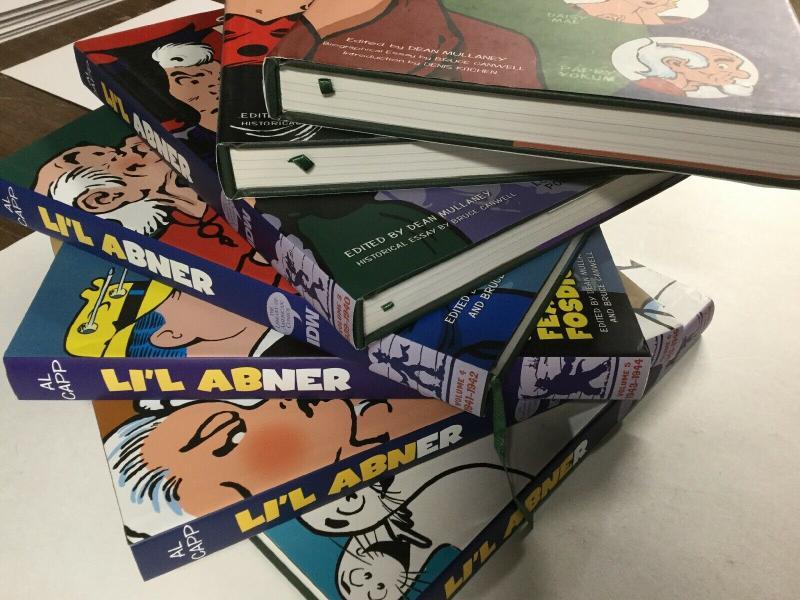 Lil Abner Complete Sundays Dailies Volume 1 2 3 4 5 6 7 Near Mint Hardcover b25