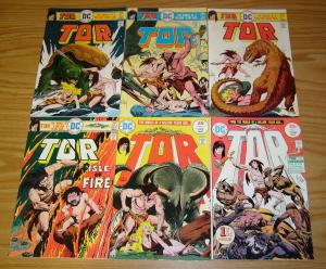Tor #1-6 VF/NM complete series - joe kubert - caveman - dinosaurs - dc bronze