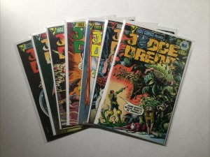 Judge Dredd 4 5 6 7 8 9 10 Lot Run Set Near Mint- Nm- 9.2 Eagle Comics