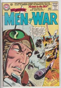 All-American Men of War #107 (Feb-65) VF+ High-Grade Lt Steve Savage Balloon ...