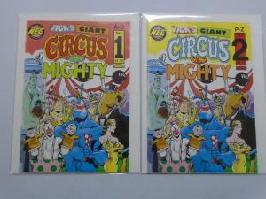 Tick's Giant Circus of the Mighty (1992) #1-2 Set - 6.0 - 1992