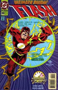 Flash (1987 series) #99, NM- (Stock photo)