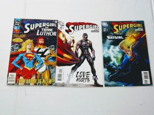 Supergirl Comic Book Lot of 3 (issues) DC Comics see more comic lots (ID#001)