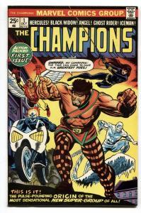 CHAMPIONS #1 Ghost Rider - Hercules -Marvel Comic Book 1975 VF