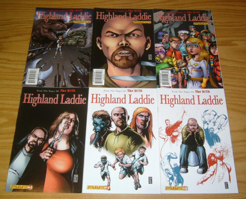 the Boys: Highland Laddie #1-6 VF/NM complete series - garth ennis - john mccrea