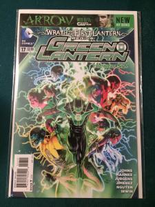 Green Lantern #17 The New 52 Wrath of the First Lantern