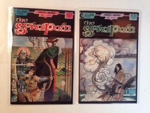 The Spiral path 1-2 Complete Near Mint Lot Set Run