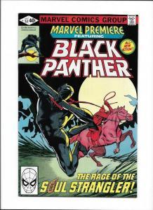 MARVEL PREMIERE #53, VF, Black Panther vs Klan, 1972 1979, more in store