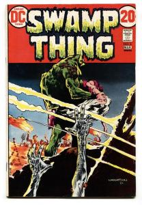 SWAMP THING #3-DC FN 1973 First appearance PATCHWORK MAN