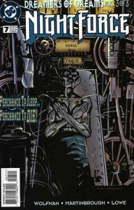 Night Force (2nd Series) #7 VF/NM; DC | save on shipping - details inside