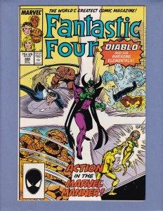 Fantastic Four #306 NM Marvel 1987