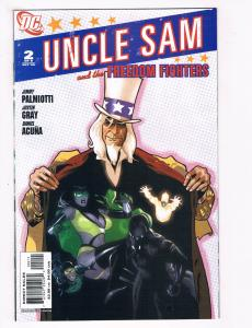 Uncle Sam & The Freedom Fighters #2 NM DC Comics Comic Book 2006 DE28