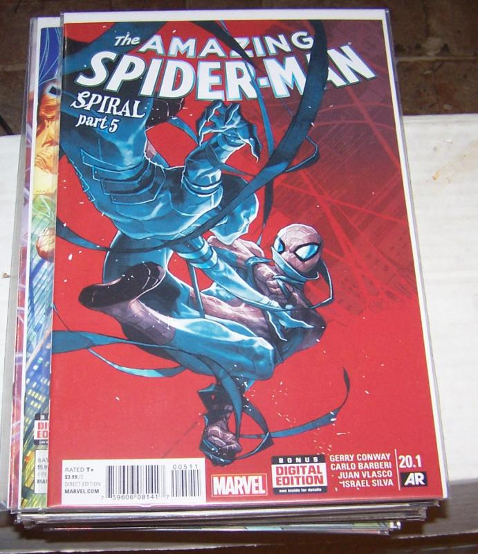 Amazing Spider-Man #  20.1 ( 2015 Marvel)   putri variant wrath spiral pt 5