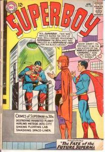 SUPERBOY 120 GOOD   April 1965 COMICS BOOK
