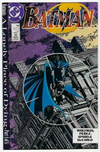 Batman # 440 VF/NM DC 1989 A Lonely Place Of Dying Part 1 of 5
