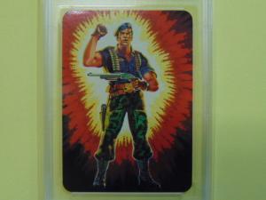 1986 Hasbro GI G.I. Joe #24 Series 1 Flint Warrant Officer - Graded Gem Mint 10
