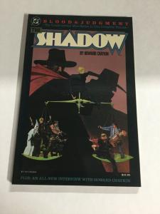 The Shadow Blood And Judgment Nm Near Mint DC Comics SC TPB