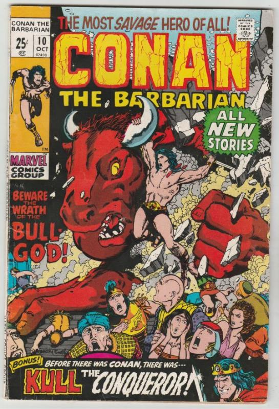 Conan the Barbarian #10 (Oct-71) VF High-Grade Conan the Barbarian