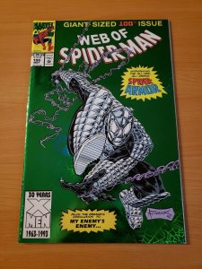 Web of Spider-Man #100 Direct Market Edition for julstre_78 NM