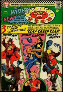 House of Mystery #159 1966- Martian Manhunter- Dial H for Hero VG