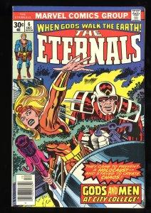 Eternals #6 VF- 7.5 1st Samuel Holden!
