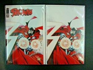 Spawn #300 Greg Capullo/Todd McFarlane Variant & 1:25 Virgin Cover Set Image