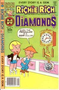 RICHIE RICH DIAMONDS (1972-1982) 54 VF-NM Sept. 1981 COMICS BOOK