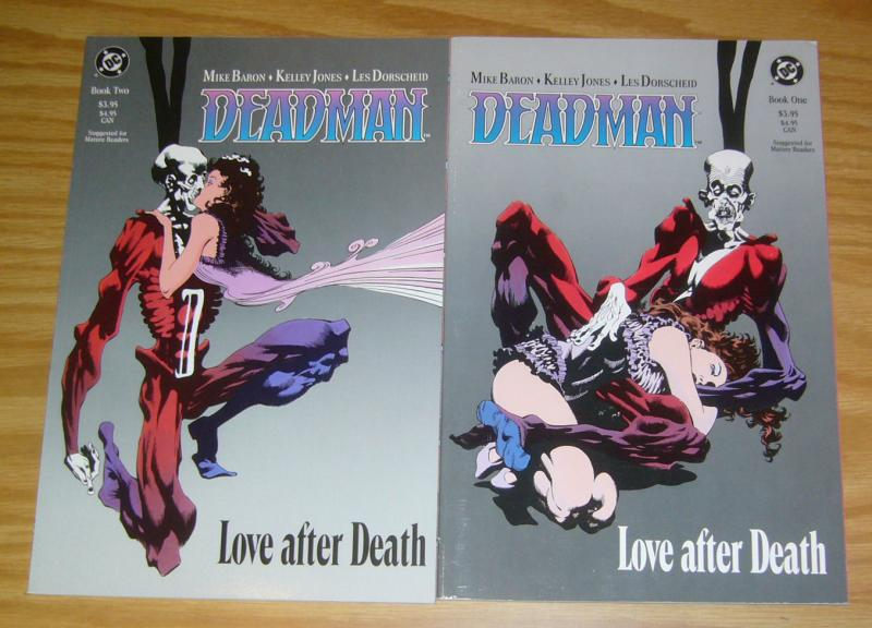 Deadman: Love After Death #1-2 VF/NM complete series - mike baron - kelley jones