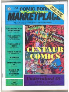 COMIC BOOK MARKETPLACE #4,  VF/NM, SDCC, Fandom, 1991, more in our store