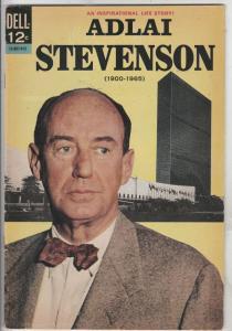 Adlai Stevenson #1 (Dec-66) FN/VF+ High-Grade Adlai Stevenson
