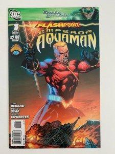 Flashpoint: Emperor Aquaman #1 in Near Mint + condition. DC comics
