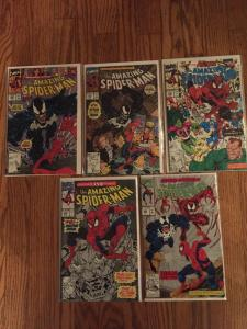 Nice amazing spiderman comic lot. Appearances by Venom, 2nd Carnage.