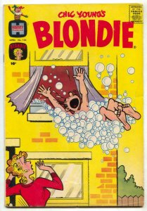 Blondie Comics #144 1961- Harvey humor VG