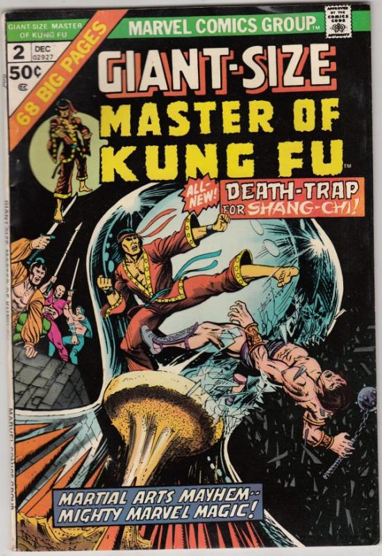 Giant-Size Master of Kung Fu #2 (Dec-74) VF+ High-Grade Shang-Chi