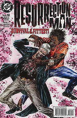 Resurrection Man #12 VF/NM; DC | save on shipping - details inside