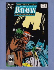 Batman #435 VF John Byrne