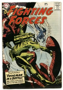 Our Fighting Forces #37 1958-DC Silver Age War comic VF-
