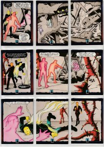 Dark Dominion # 0 Trading Cards  Rare Steve Ditko painted art ! 117 Cards !