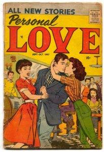 Personal Love #1 1957- Romance comic- G/VG
