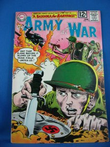 OUR ARMY AT WAR SGT ROCK 119 Fine- 1962