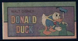 MINI COMIC 1976 WALT DISNEY DONALD DUCK #1 1976