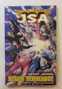 JSA: BLACK VENGEANCE VOL.10  TPB SOFT COVER FIRST PRINT DC COMICS NM