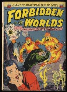 Forbidden Worlds #2 VG- 3.5
