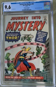 Journey Into Mystery #83 GRR (1966) CGC 9.6 - Golden Record Reprint of 1st Thor