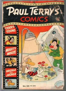 Paul Terry's Comics #99 1953-St. John-Mighty Mouse-Heckle & Jeckle-G-