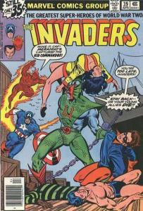 INVADERS (1975-1979) 39 VERY FINE COMICS BOOK