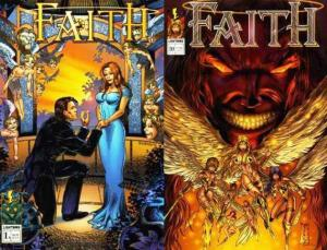 FAITH (1997 LIGHTNING) 1A-1B set of both variant covers
