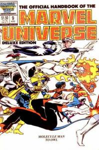 Official Handbook of the Marvel Universe (1985 series) #9, VF+ (Stock photo)